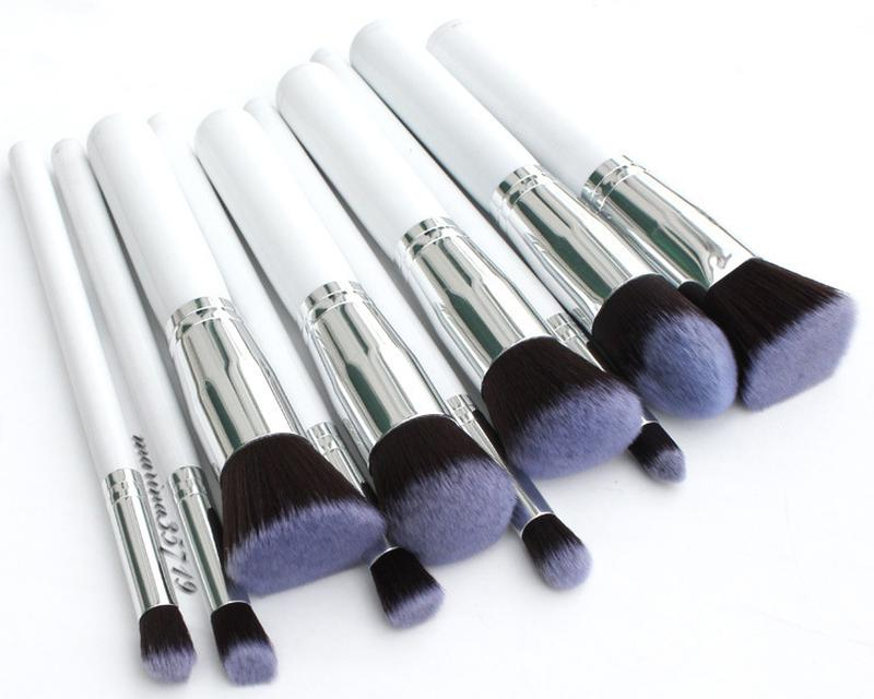 Профессиональный набор из 10 кистей для макияжа 02
