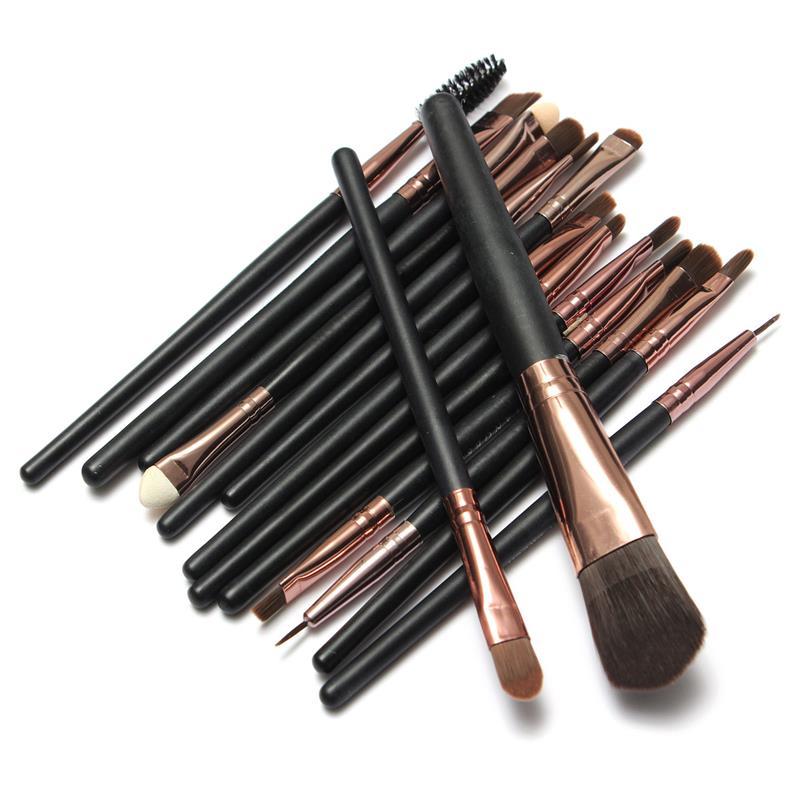 Профессиональный набор кистей для макияжа из 15 кистей