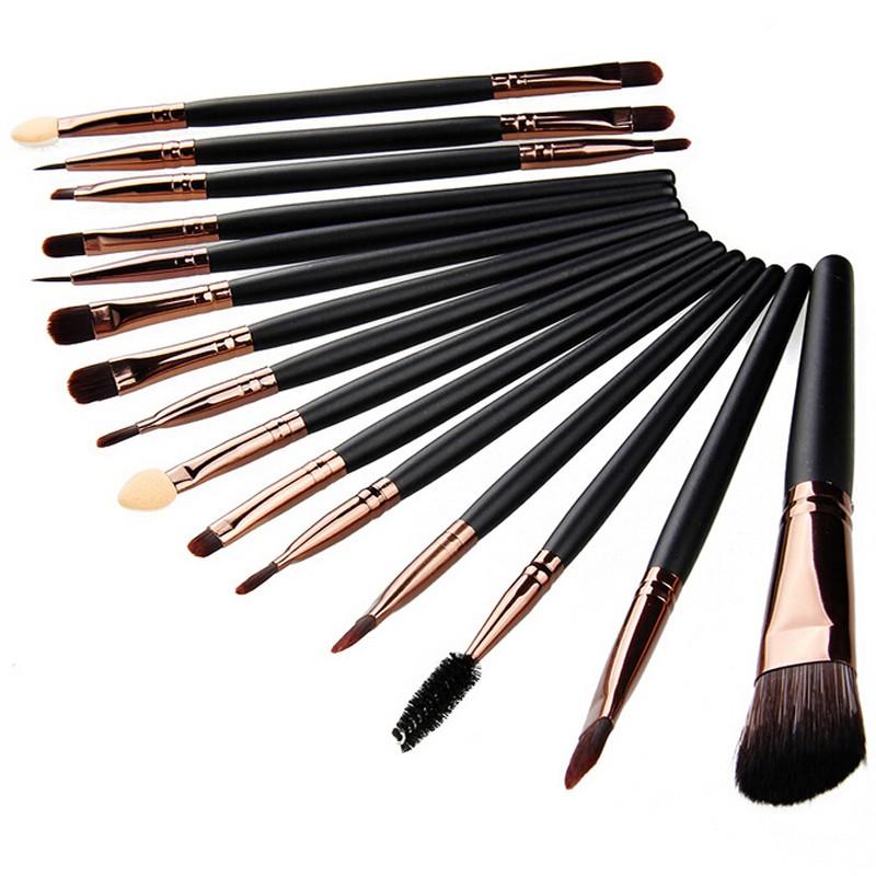 Профессиональный набор кистей для макияжа из 15 кистей 09