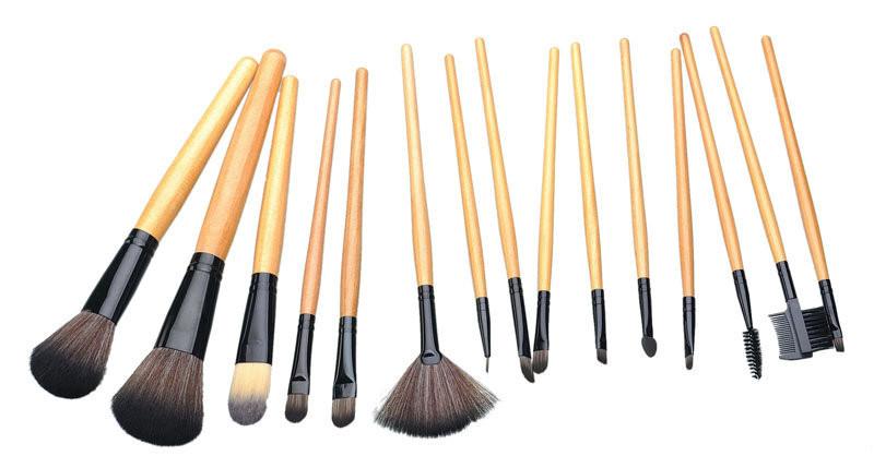 Набор кистей для макияжа 15 кистей 01