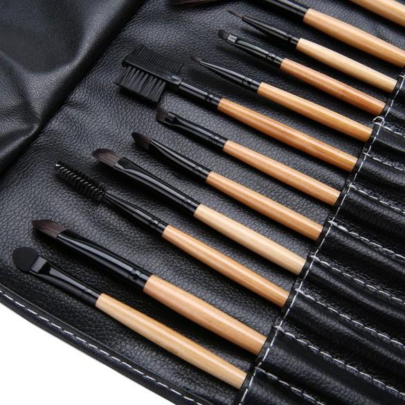 Набор кистей для макияжа 15 кистей 02