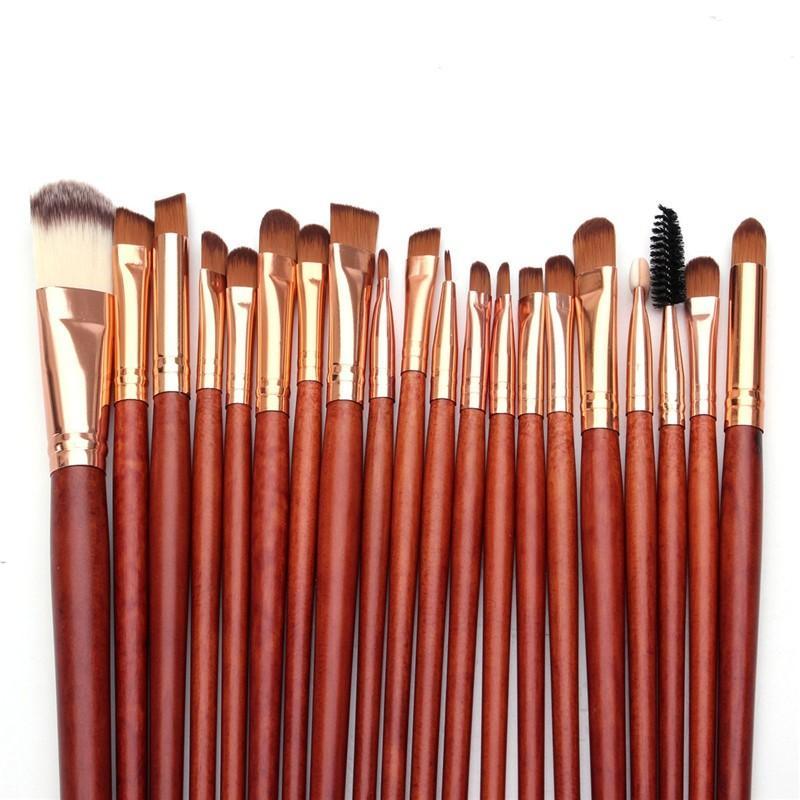 Профессиональный набор кистей для макияжа из 20 кистей 13