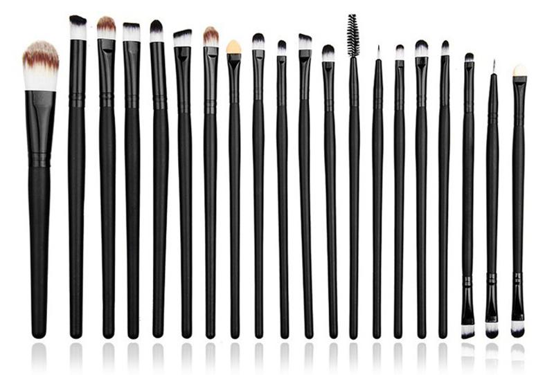 Профессиональный набор кистей для макияжа из 20 кистей 02