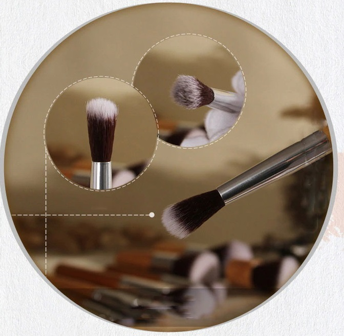 Универсальный набор кистей для макияжа 5 штук 05