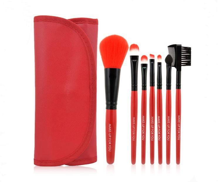 Качественный набор кистей для макияжа MAKE-UP FOR YOU 7 кистей