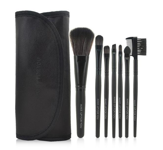 Качественный набор кистей для макияжа MAKE-UP FOR YOU 7 кистей 01