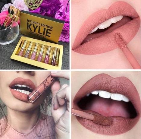 Лимитированный набор жидких матовых помад Kylie Birthday Edition 05