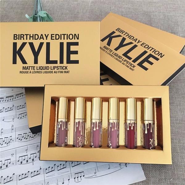 Лимитированный набор жидких матовых помад Kylie Birthday Edition 03