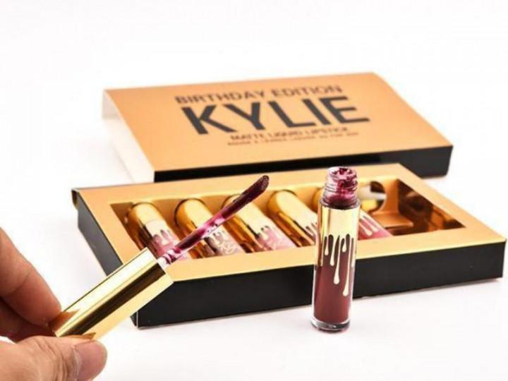 Лимитированный набор жидких матовых помад Kylie Birthday Edition 06