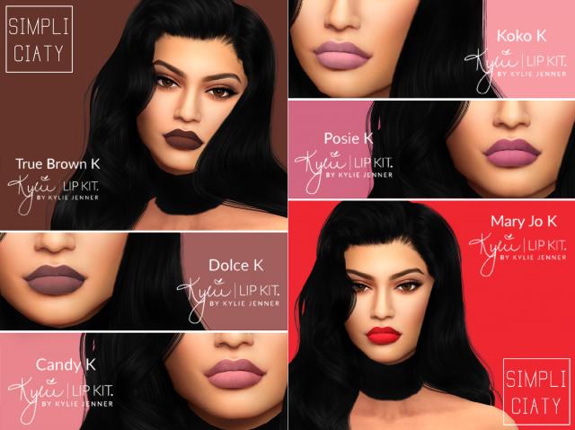 Набор помада + карандаш Kylie Lipstick & Lip Liner 03