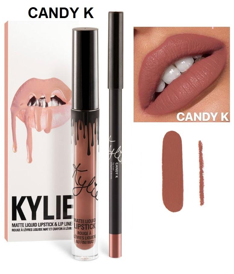 Набор помада + карандаш Kylie Lipstick & Lip Liner 05
