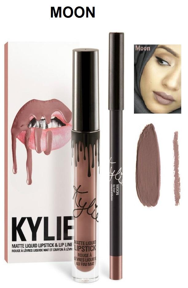 Набор помада + карандаш Kylie Lipstick & Lip Liner 06