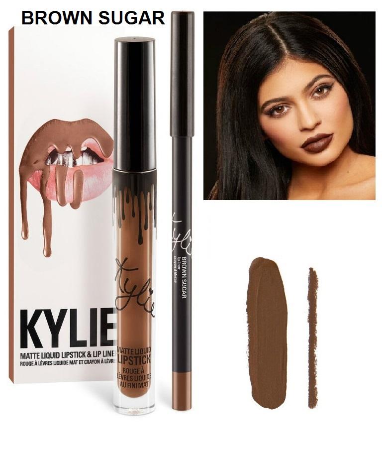 Набор помада + карандаш Kylie Lipstick & Lip Liner 10