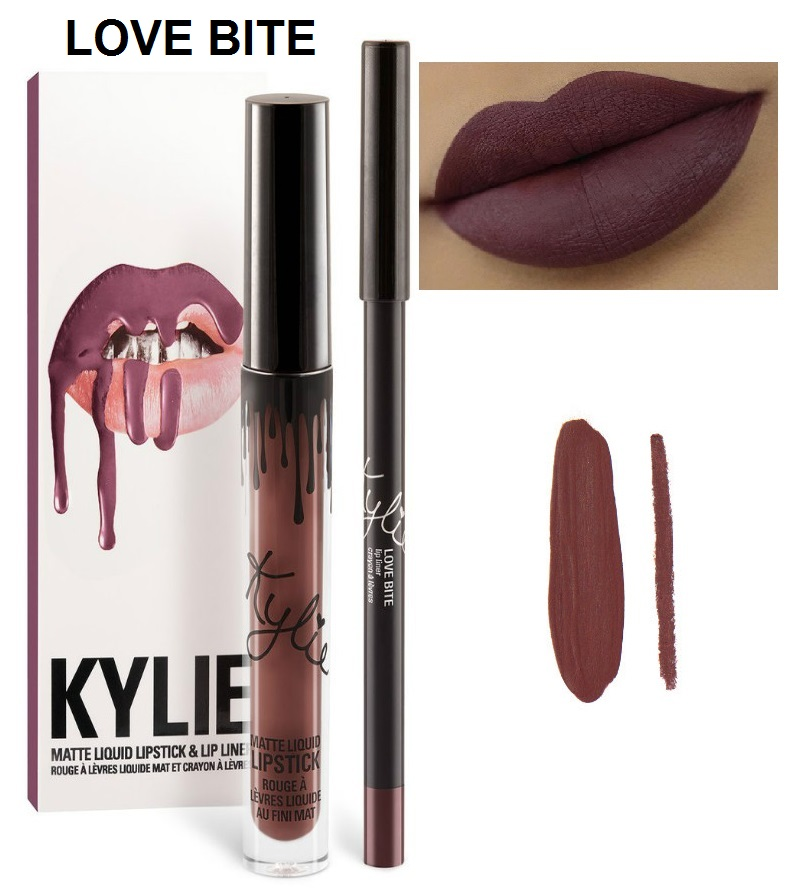 Набор помада + карандаш Kylie Lipstick & Lip Liner 11
