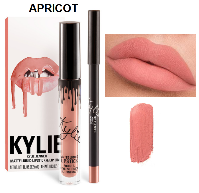 Набор помада + карандаш Kylie Lipstick & Lip Liner 14