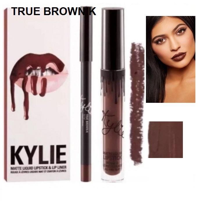 Набор помада + карандаш Kylie Lipstick & Lip Liner 16