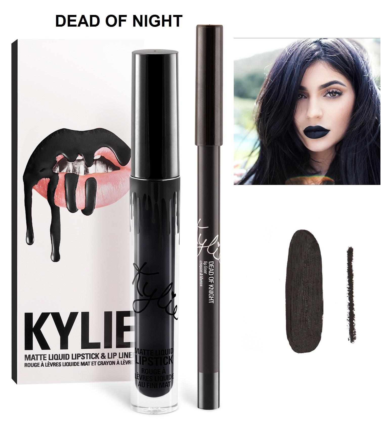 Набор помада + карандаш Kylie Lipstick & Lip Liner 17