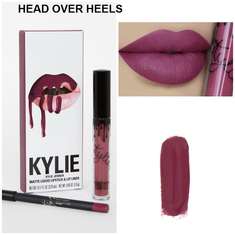 Набор помада + карандаш Kylie Lipstick & Lip Liner 19