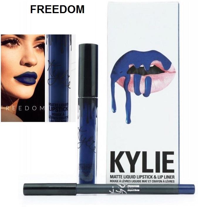 Набор помада + карандаш Kylie Lipstick & Lip Liner 27