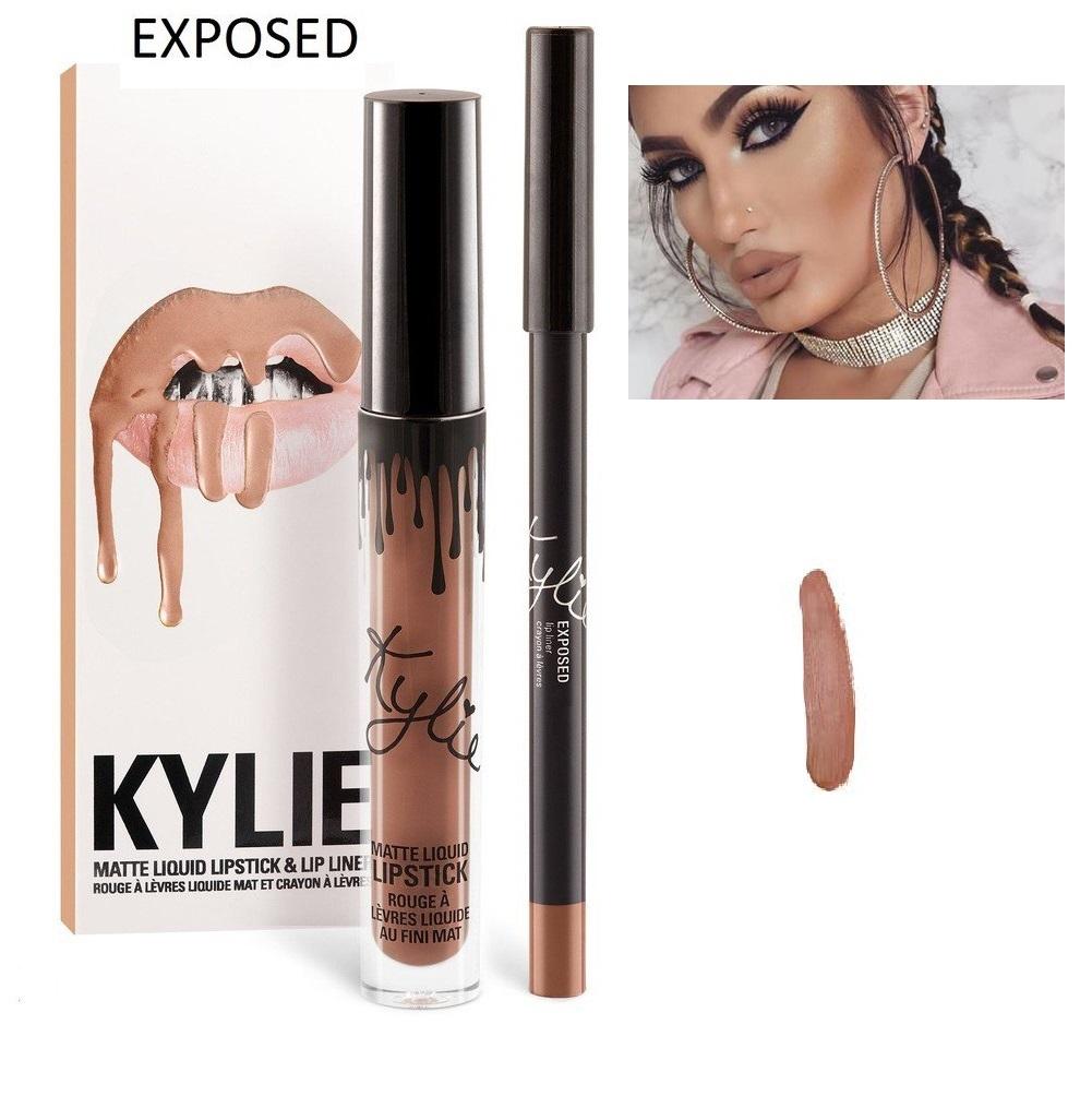 Набор помада + карандаш Kylie Lipstick & Lip Liner 20