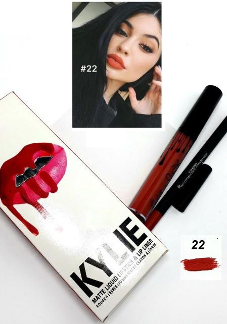 Набор помада + карандаш Kylie Lipstick & Lip Liner 21