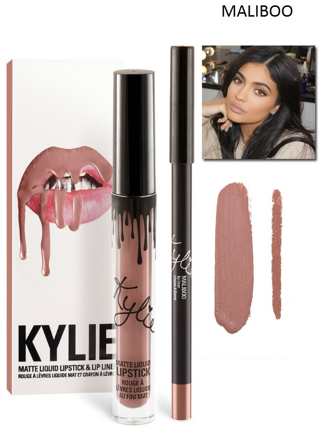 Набор помада + карандаш Kylie Lipstick & Lip Liner 22