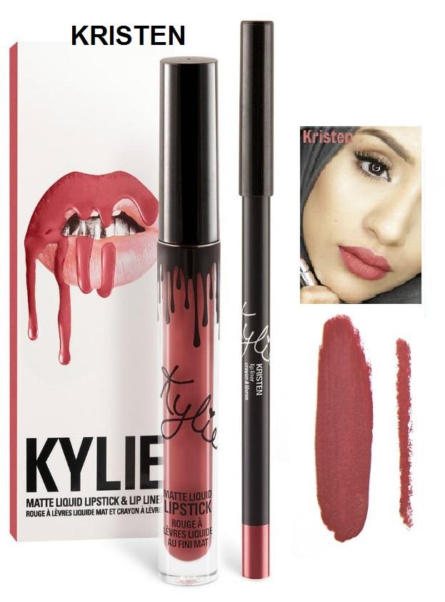 Набор помада + карандаш Kylie Lipstick & Lip Liner 23