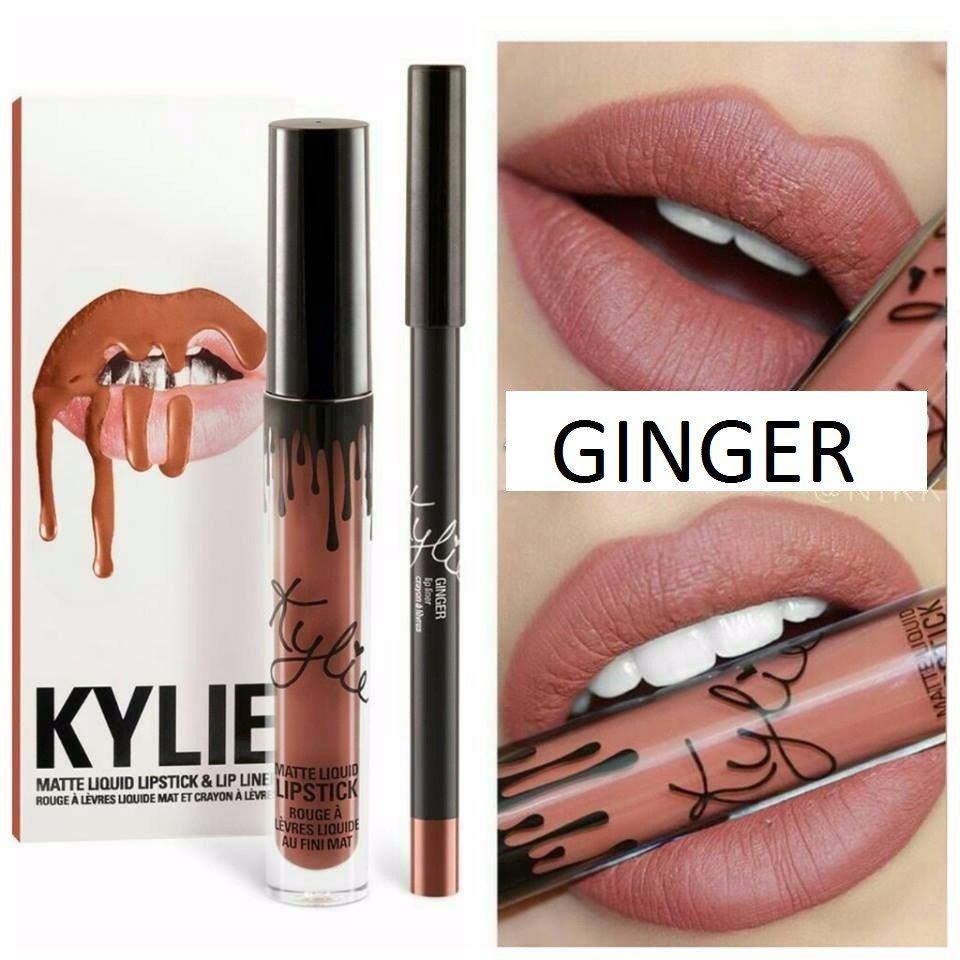 Набор помада + карандаш Kylie Lipstick & Lip Liner 24