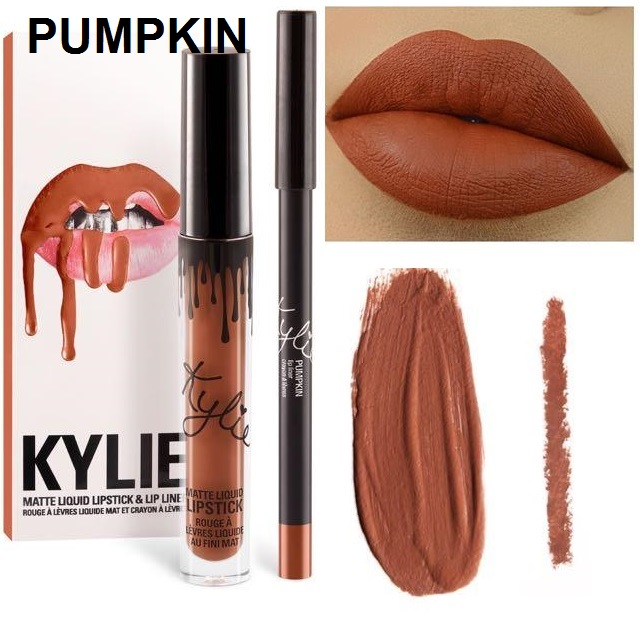 Набор помада + карандаш Kylie Lipstick & Lip Liner 25
