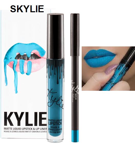 Набор помада + карандаш Kylie Lipstick & Lip Liner 28
