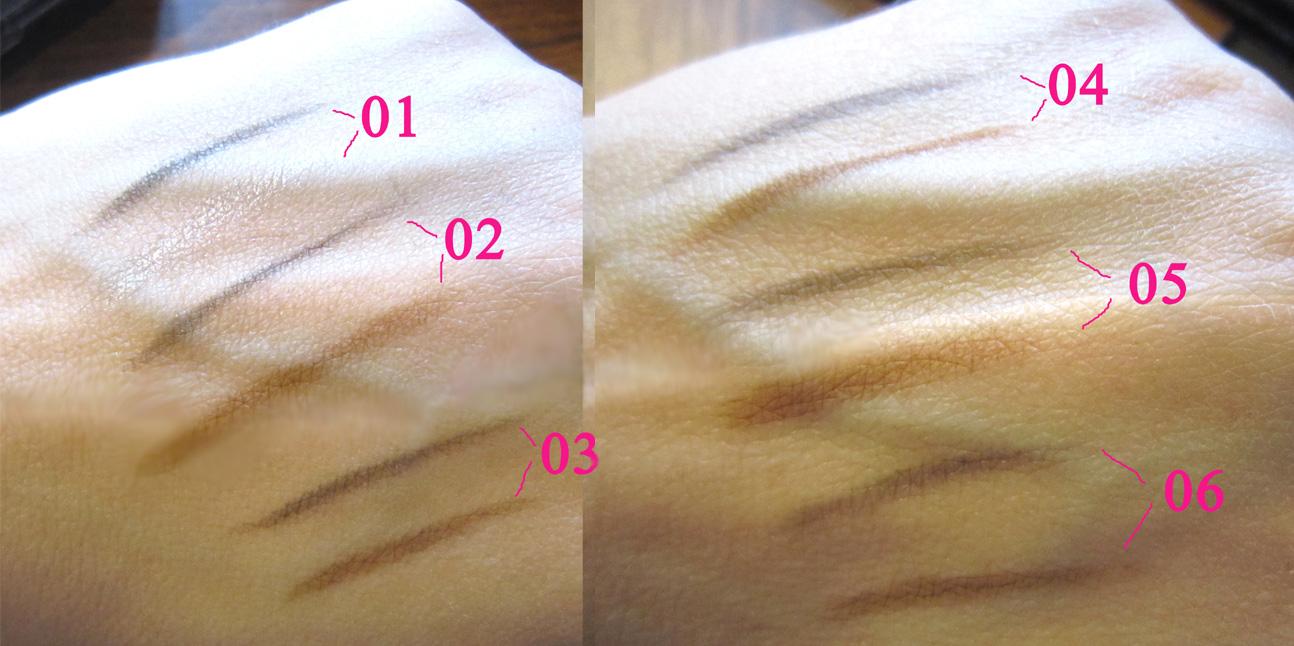 Компактный набор теней для бровей (пудра для бровей) 03