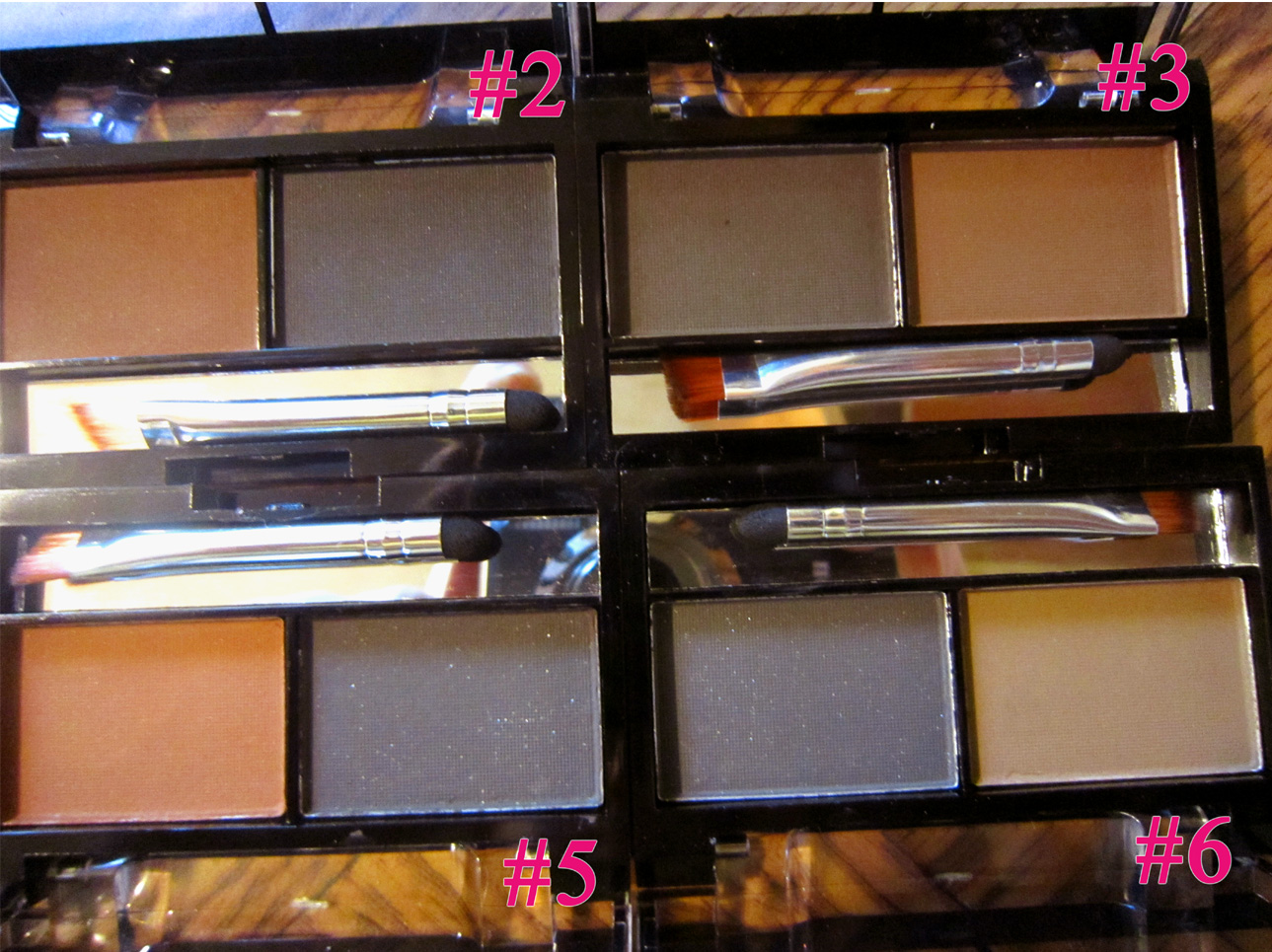 Компактный набор теней для бровей (пудра для бровей) 05