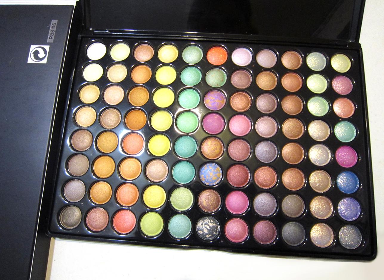 Профессиональные палетки (палитры) теней 88 цветов по супер цене! 13