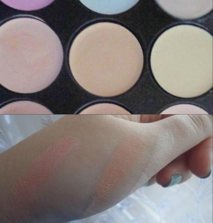 Профессиональная палитра консилеров (корректоров) 15 цветов - незаменимая для макияжа! 04