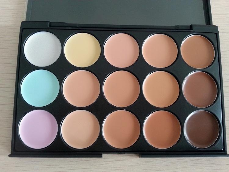 Профессиональная палитра консилеров (корректоров) 15 цветов - незаменимая для макияжа! 06