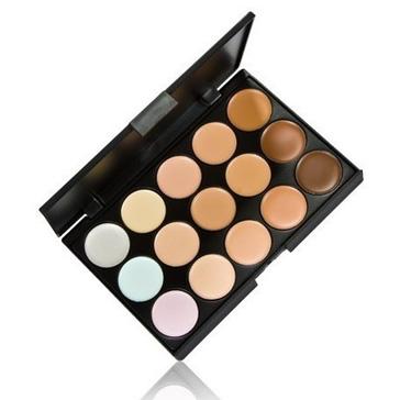 Профессиональная палитра консилеров (корректоров) 15 цветов - незаменимая для макияжа! 07