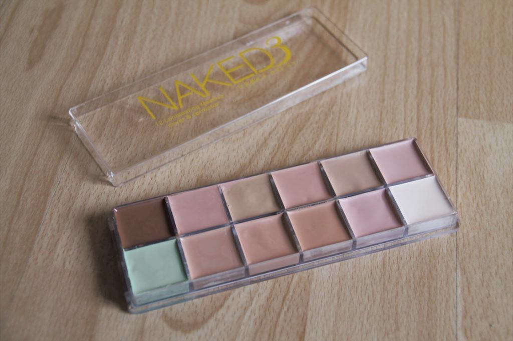 Профессиональная палитра консилеров (корректоров) 12 цветов Naked3 - незаменимая для макияжа! 06