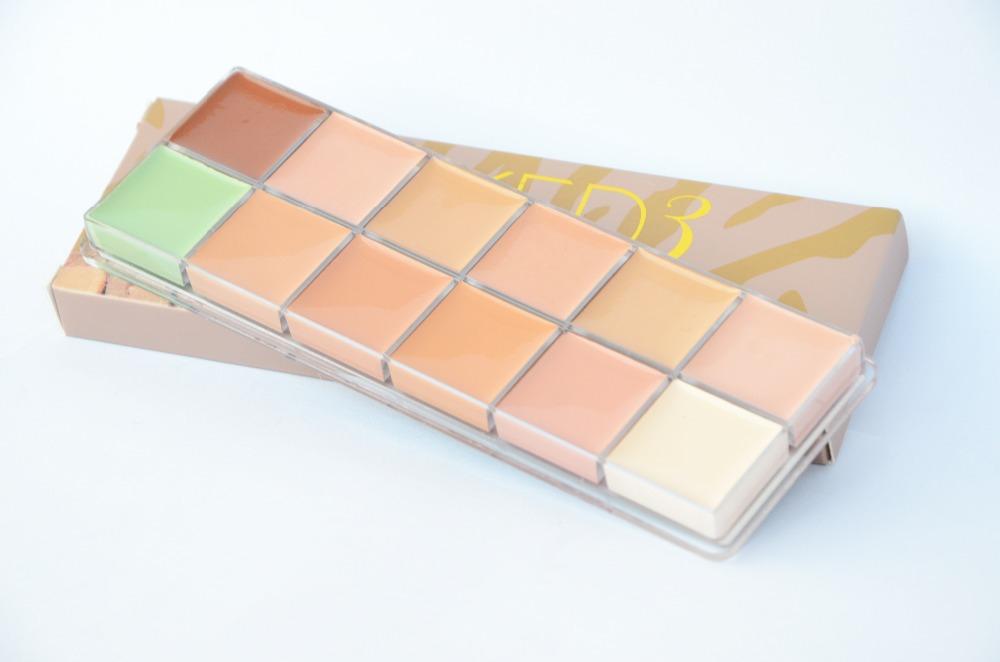 Профессиональная палитра консилеров (корректоров) 12 цветов Naked3 - незаменимая для макияжа! 07