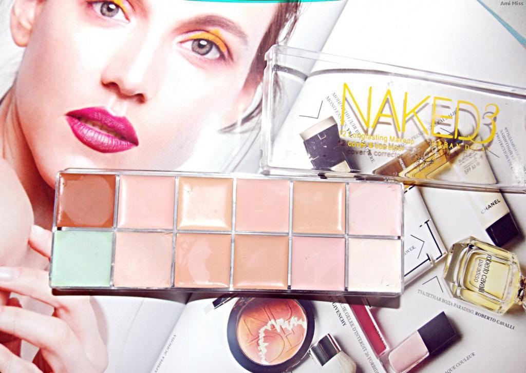 Профессиональная палитра консилеров (корректоров) 12 цветов Naked3 - незаменимая для макияжа! 08