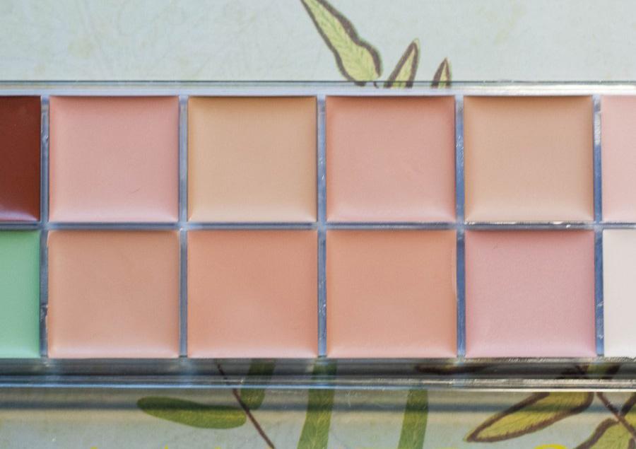 Профессиональная палитра консилеров (корректоров) 12 цветов Naked3 - незаменимая для макияжа! 03