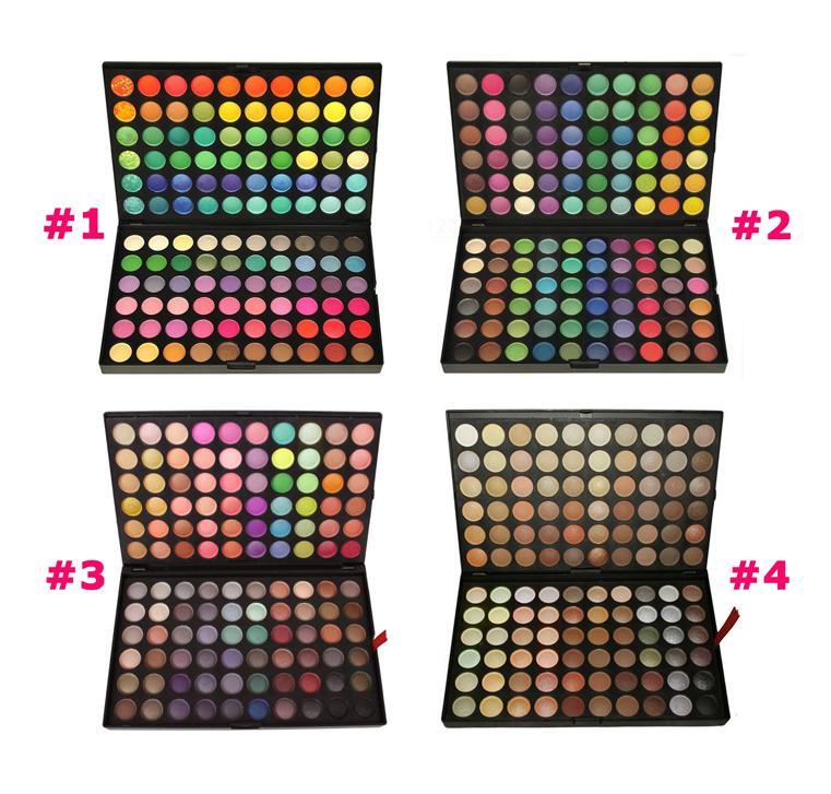 Профессиональные палетки (палитры) теней 120 цветов MAKE-UP FOR YOU оригинал по супер цене! 01