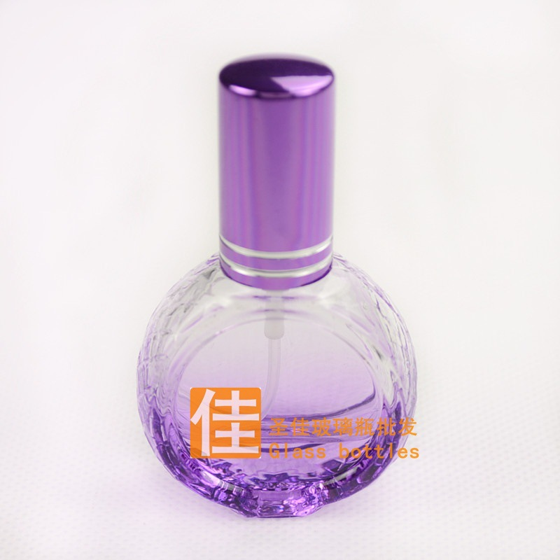 Флаконы стеклянные круглые 10 мл, атомайзеры для духов, флаконы для парфюмерии, фиолки 10 мл 04