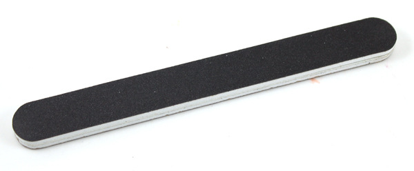 Пилка для ногтей 2-х сторонняя с абразивным наждачным покрытием 05