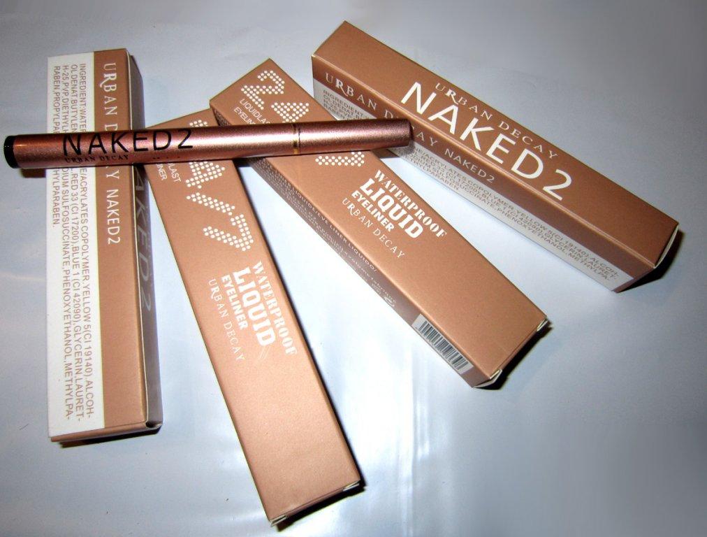 Подводка фломастер (маркер) для глаз Naked5 Waterproof Liquid Eyeliner 01