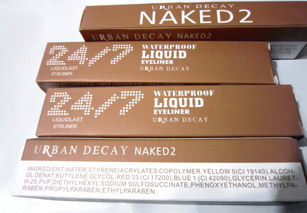 Подводка фломастер (маркер) для глаз Naked5 Waterproof Liquid Eyeliner 06