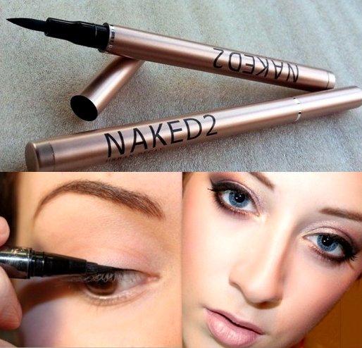 Подводка фломастер (маркер) для глаз Naked5 Waterproof Liquid Eyeliner 07