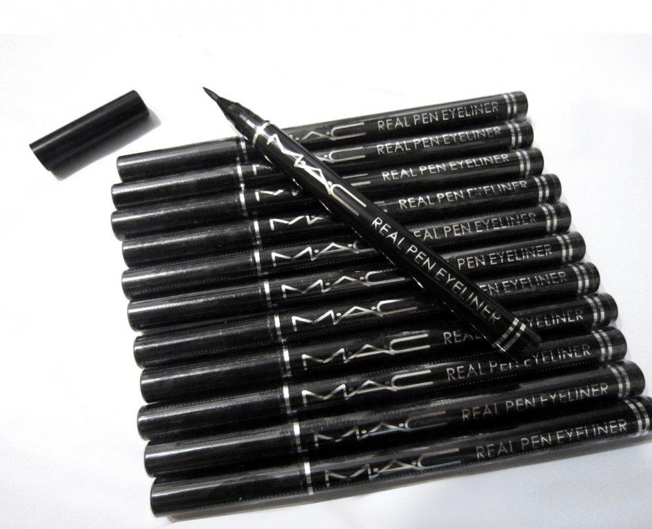 Подводка фломастер (маркер) для глаз Mac Real Pen Eyeliner 01