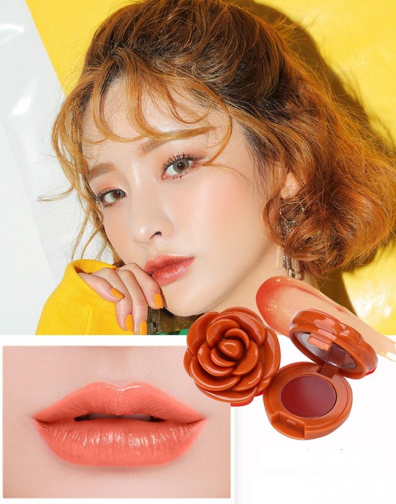 Помада-роза для губ Gecomo 06
