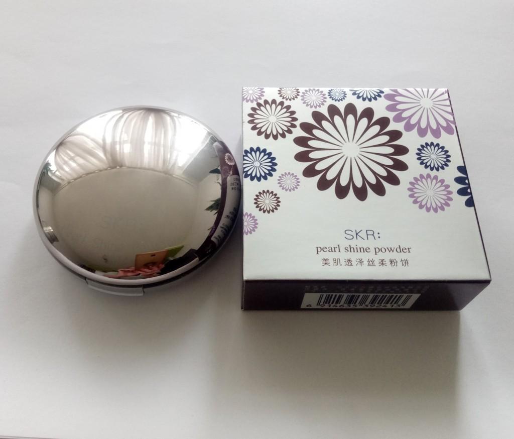 Пудра компактная SKR pearl shine powder 06