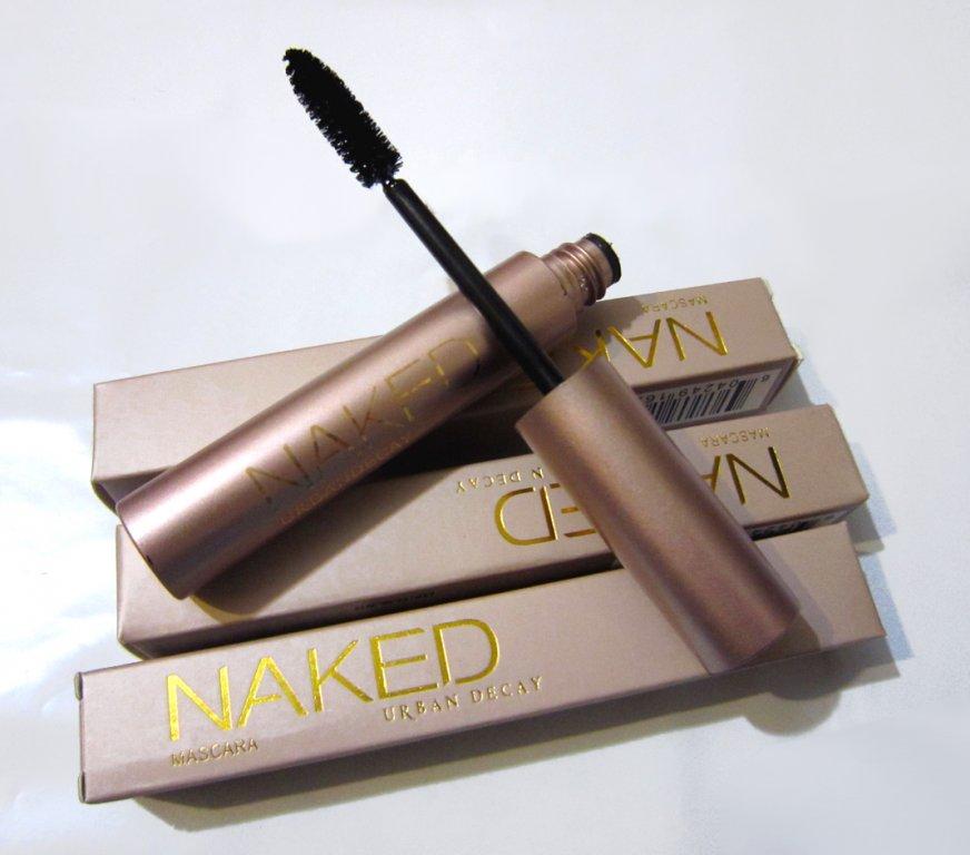 Классическая тушь для ресниц Naked с эффектом естественных ресниц 01